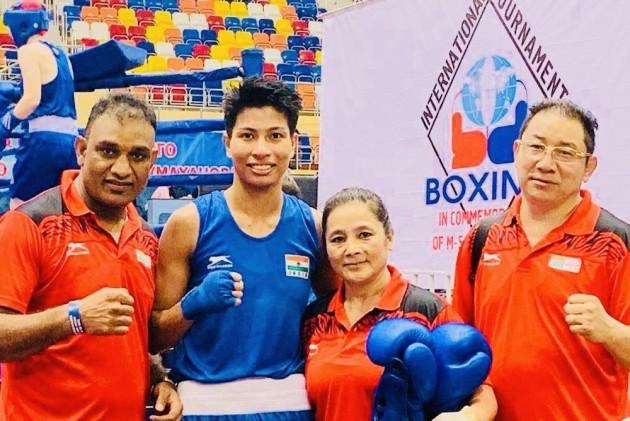 భారత మహిళా బాక్సర్ల గుద్దులకు రష్యా అదిరింది - Indian female boxers performing great at russian interantional championship
