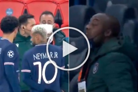 PSG Vs Istanbul Basaksehir: Champions League Match Called Off After  Shocking Racism Incident - WATCH