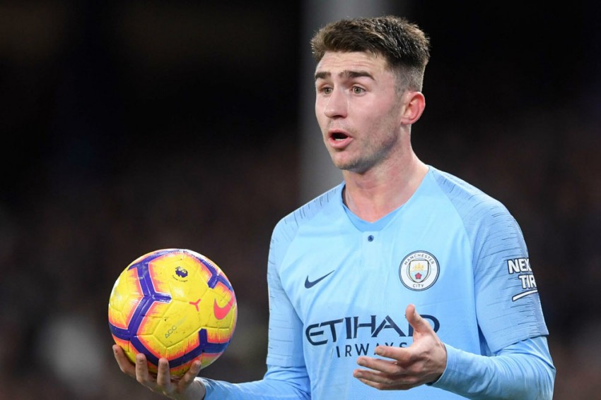 Sabtu, 21 agustus 2021 08:31 wib. Manchester City's Aymeric Laporte Switches From France To ...