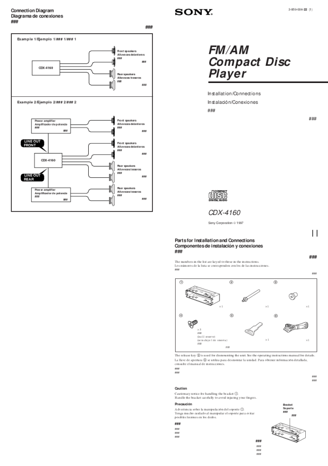 sony cdx ra700 wiring diagram wiring diagram sony cdx gt35uw wiring harness diagram photo al wire