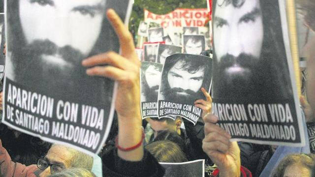 La familia de Santiago Maldonado pidió una investigación independiente.