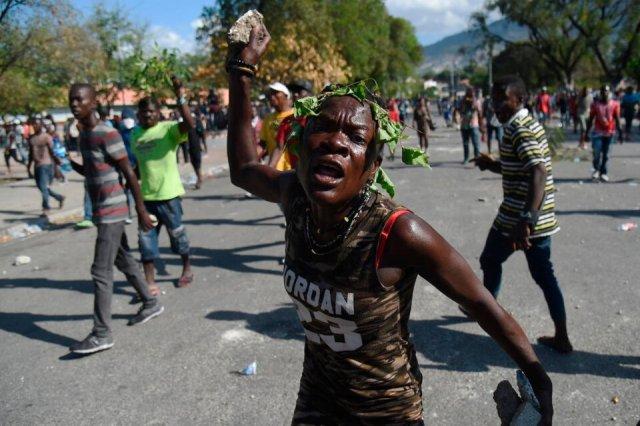 El asesinato del presidente de Haití, Jovenel Moïse, se produceen medio de un clima de violencia. (Fuente: AFP)