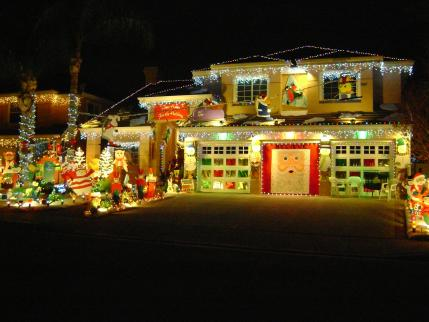 santaclaritaguide com santa clarita best christmas light displays paing