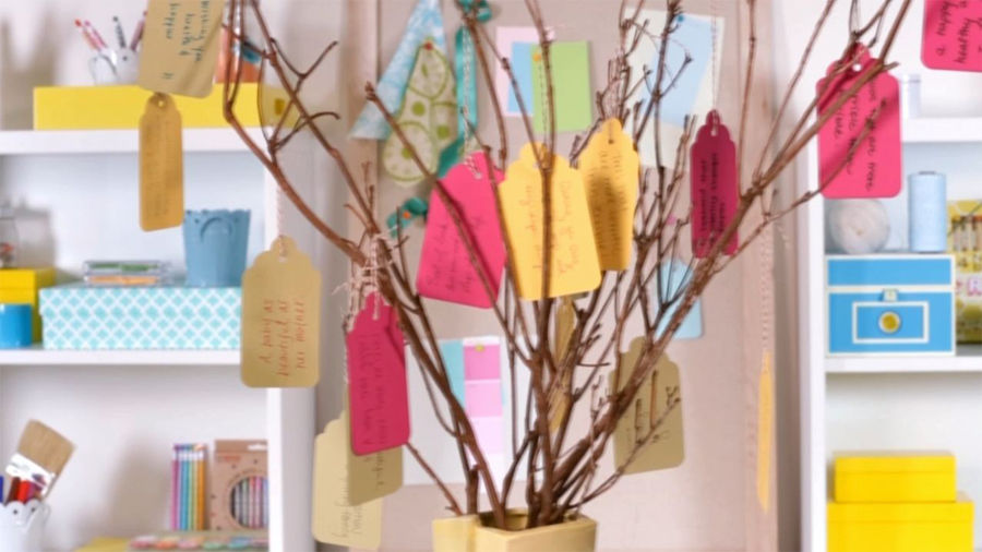 Baby Shower Ideas How To Make A Wishing Tree Parents