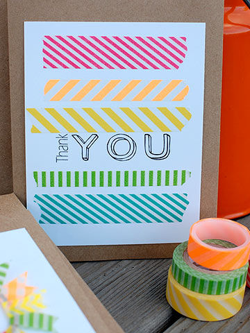 Bloggers Best Thank You Card Crafts