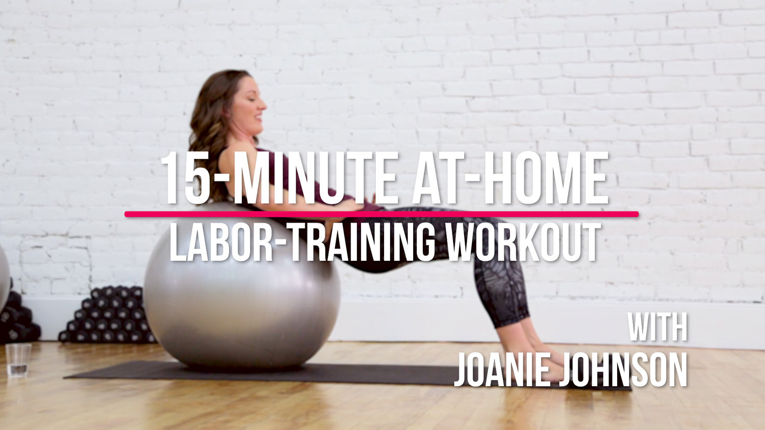 15 Minute At Home Labor Training Workout