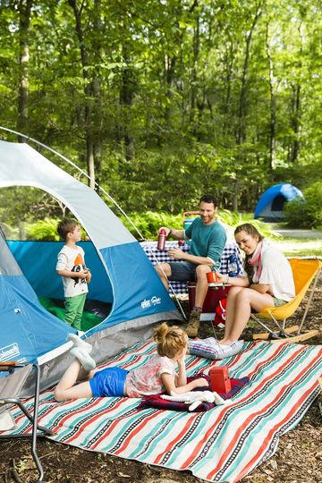 Image result for tent camping with kids