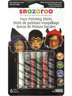 Snazaroo Halloween Face Painting Sticks