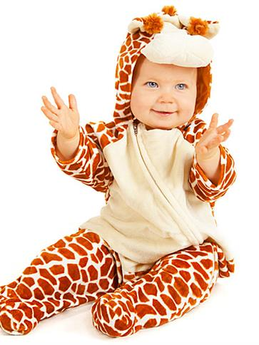 Little Giraffe Baby Costume Party Delights