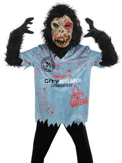 Chimp Zombie Boy