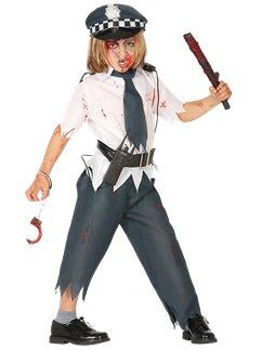 Zombie Police Boy