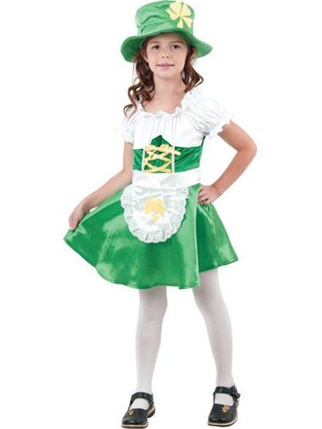 Leprechaun Girl - Child Costume | Party Delights