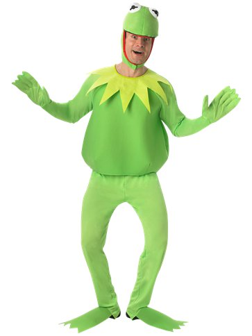The Muppets Kermit Adult Costume Party Delights