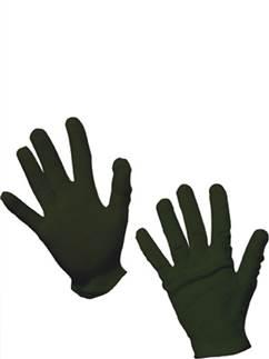 Children's Black Gloves