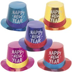 New Year's Eve Hats, Kits & Accessories | Party Delights