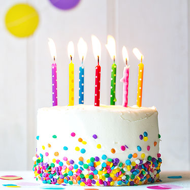 Party Candles Amp Cake Candles Party Delights