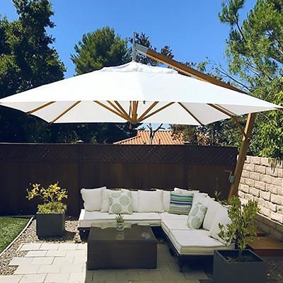 ultimate guide to patio umbrella sizes