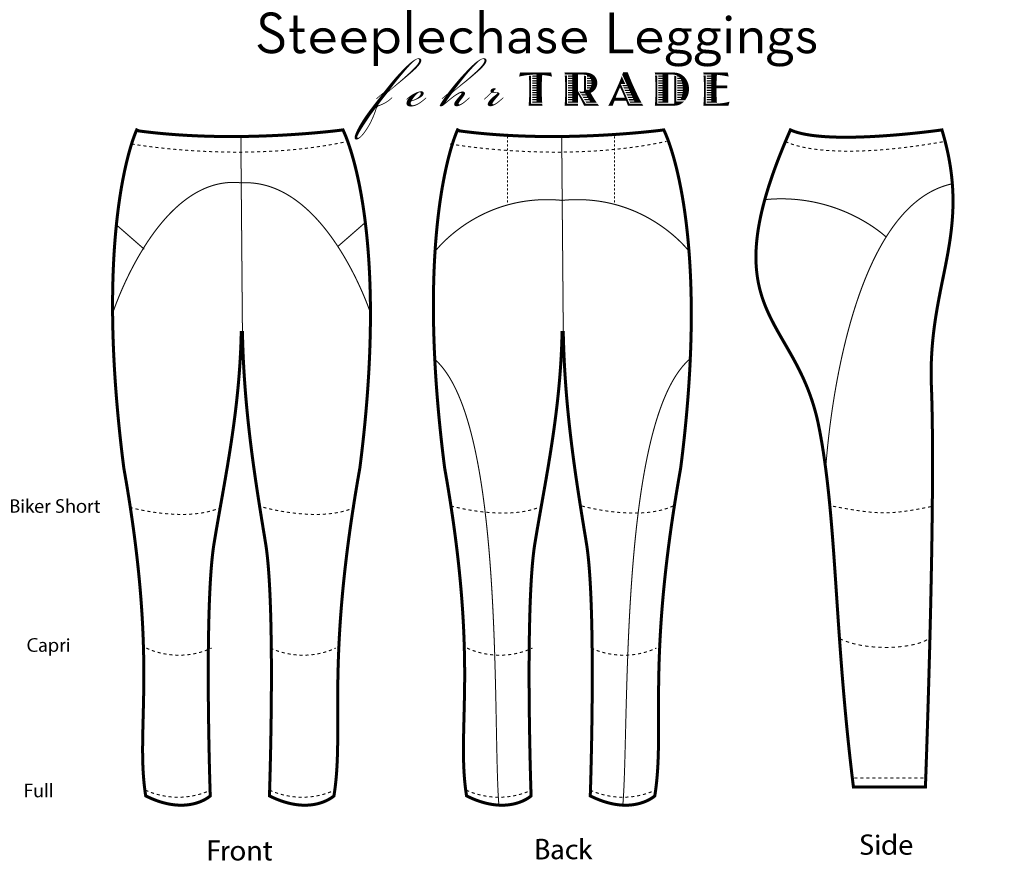Fehr Trade 201 Steeplechase Leggings Downloadable Pattern