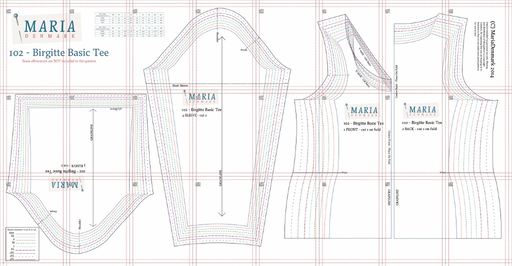 Fabric Patterns Sewing Knit Tops