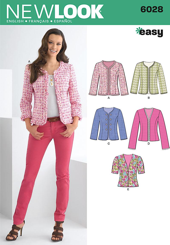 New Look 6028 Jacket | Sew Cult