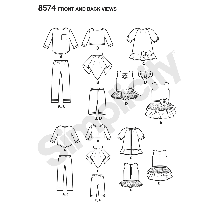 Easy Skirt Patterns Simplicity   Wiring Diagram Database
