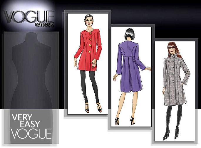 Vogue Patterns 8626 Coat