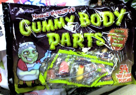 Gummy Body Parts 1