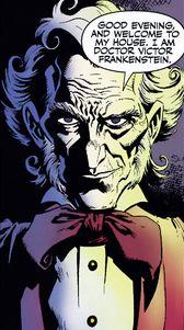 Dr Frankenstein comic