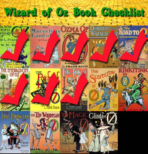 Oz books checklist