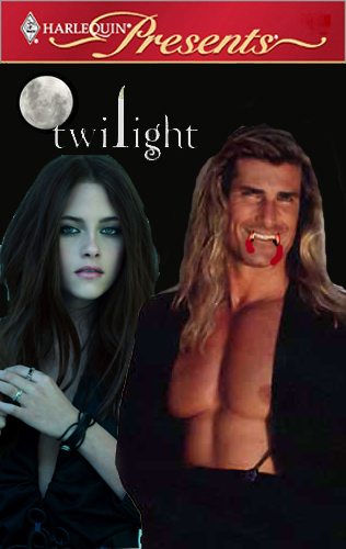 Harlequin Twilight book