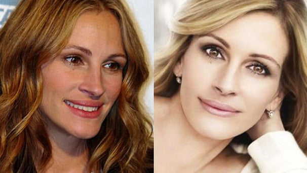 Julia Roberts Ad Banned in the UK for Abuse of Photoshop