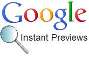 Google Instant Previews
