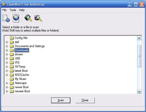 ClamWin Free antivirus software