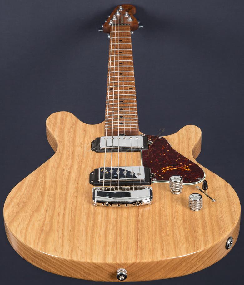 Ernie Ball Music Man Valentine Guitar Satin Natural