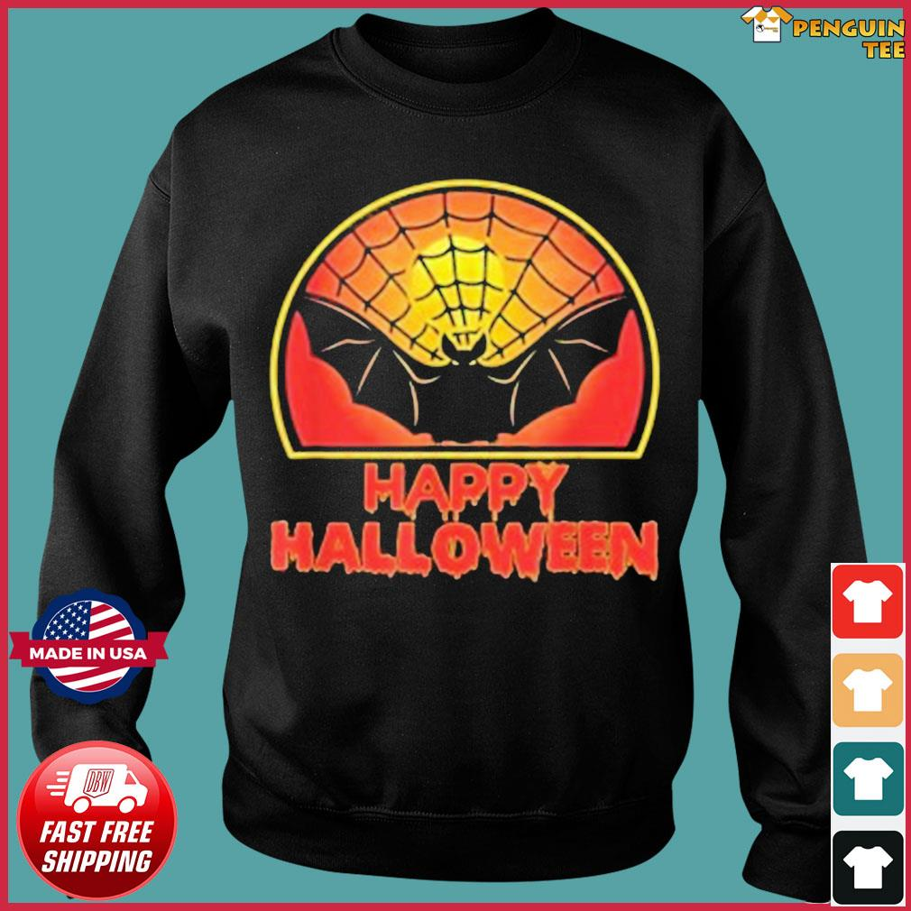 While we receive compensation when you click links to partners, they do not i. Retro Bat Halloween Bat Happy Halloween 2021 Shirt, hoodie, sweater, long sleeve and tank top