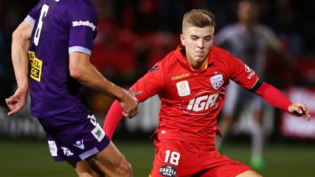 Reds youngster Riley McGree says his recent Caltex Socceroos call-up has helped take his game to a new level.