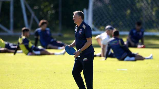 Ernie Merrick only took charge of his first Newcastle Jets training session last week but the Scotsman has been impressed with what he's seen in his short stint at the club.