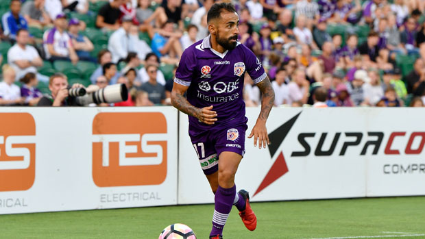Glory star Diego Castro has been named in EA Sports' FIFA Team of the Week.
