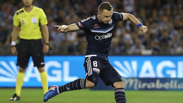 Victory striker Besart Berisha found the net in his side's 2-1 win over Melbourne City.