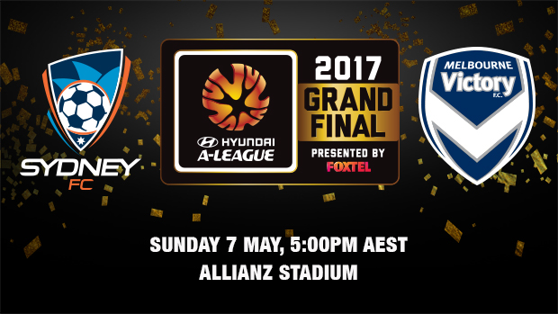 Sydney FC will play Melbourne Victory in the Hyundai A-League 2016/17 Grand Final.