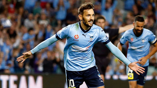 Milos Ninkovic claimed a clean sweep of Sydney FC's major awards on Friday night.