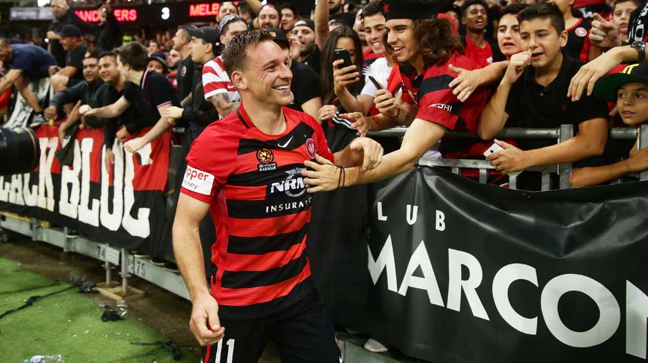 Forward: Brendon Santalab (Wanderers)