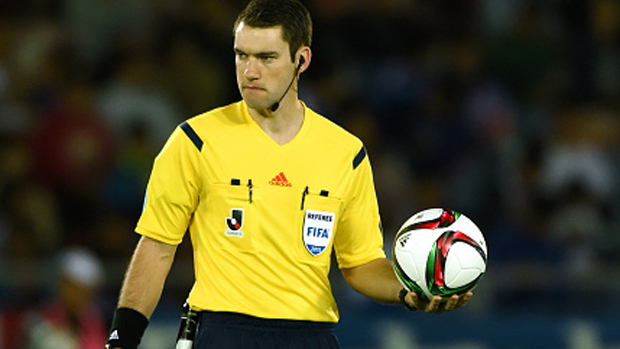 Hyundai A-League referee Jarred Gillett.