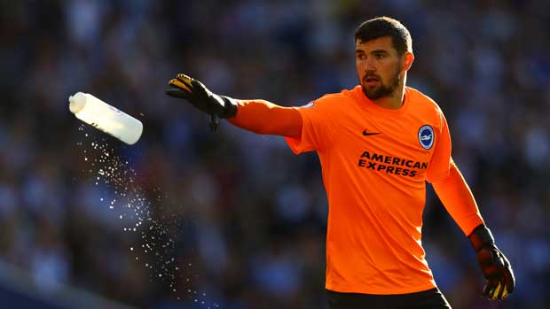 Mat Ryan pulled off some big saves in Brighton's clash with Manchester City.
