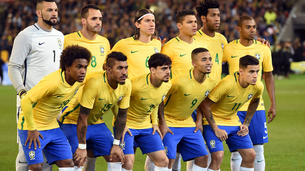 Brazil's starting line-up for Friday night's friendly with Argentina at the MCG.