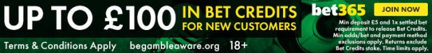 bet365 new customer offer footer English