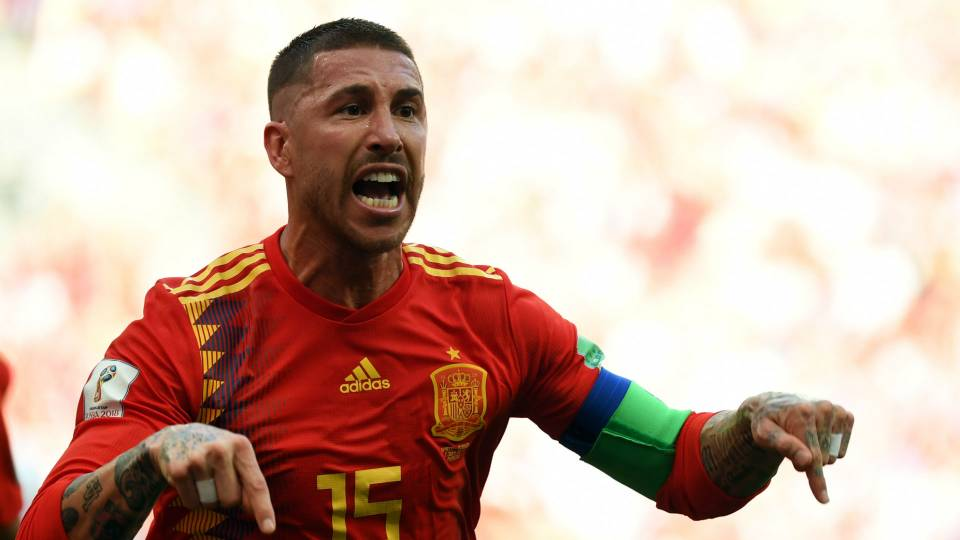 Spain And Ramos Set World Cup Passing Records Against