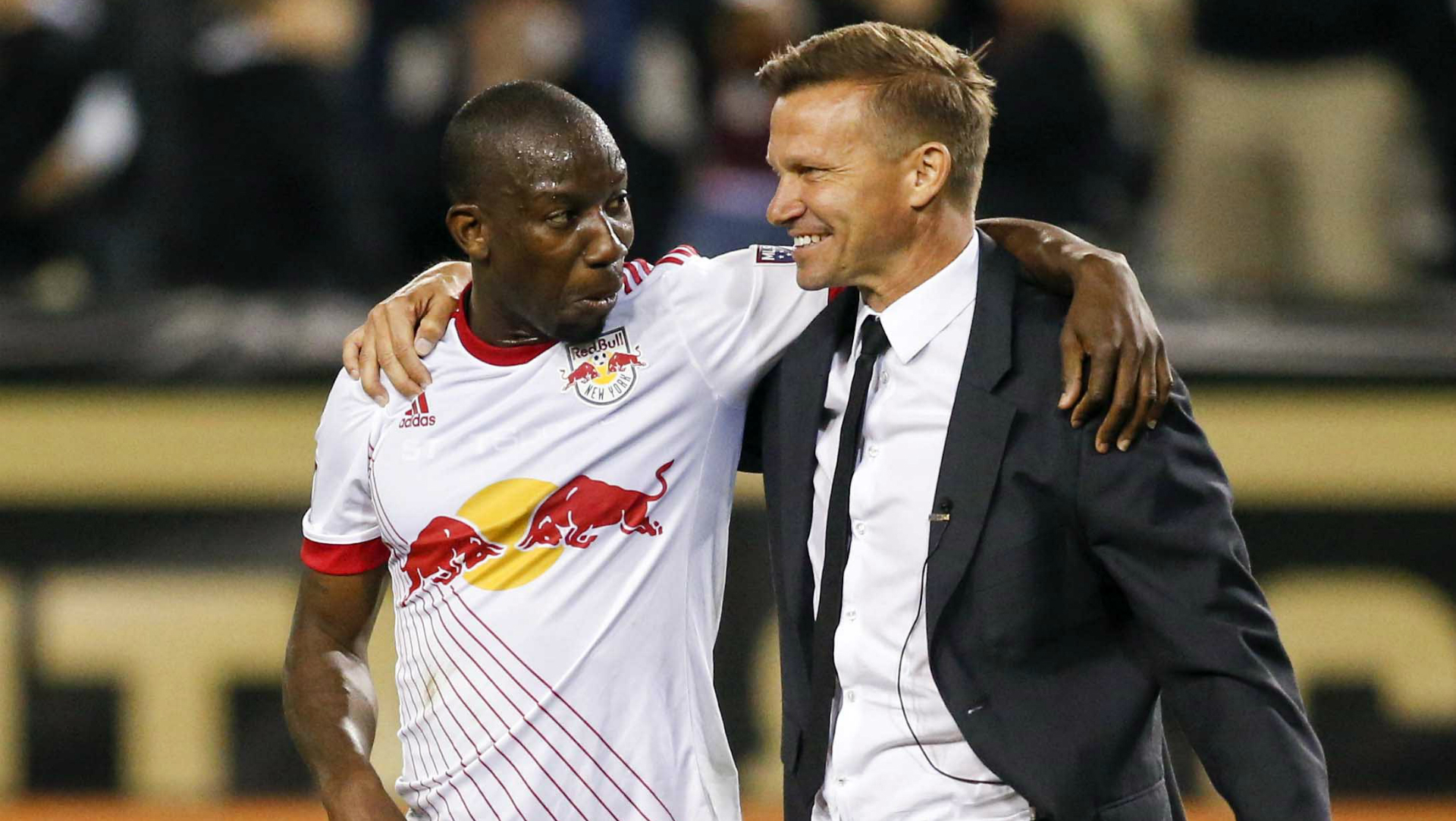 Bradley Wright-Phillips Jesse Marsch New York Red Bulls