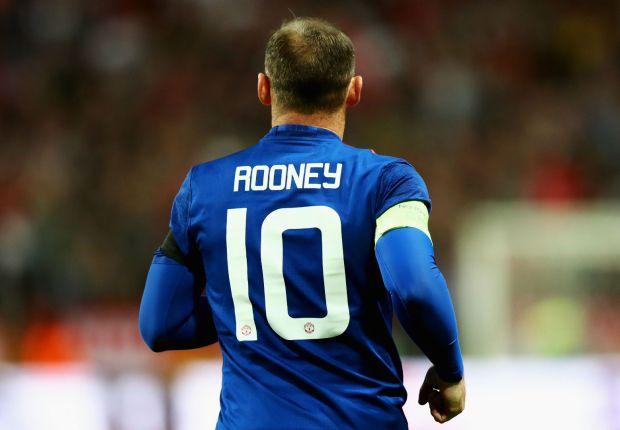 Wayne Rooney's Everton shirt number revealed