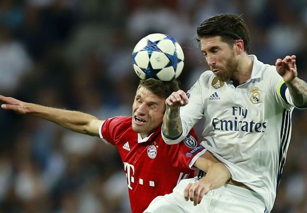 Bayern star Muller reveals his top three toughest defenders